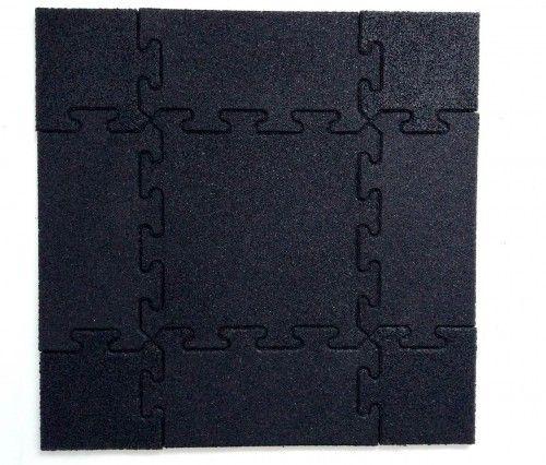 Wykończenie narożne najazd do maty puzzle 1m x 1m - 0,25m x 0,25m x 15