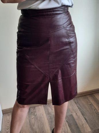 Шкіряна спідниця, кожаная юбка