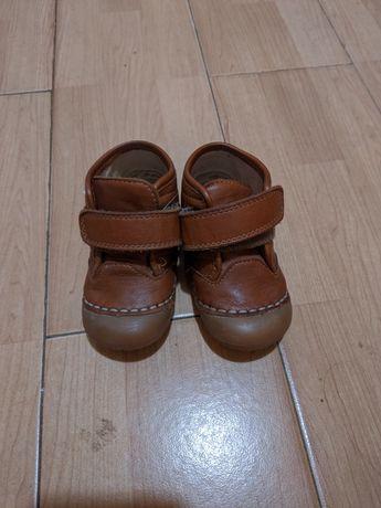 Детские кожаные ботинки Prenatal 21 размер