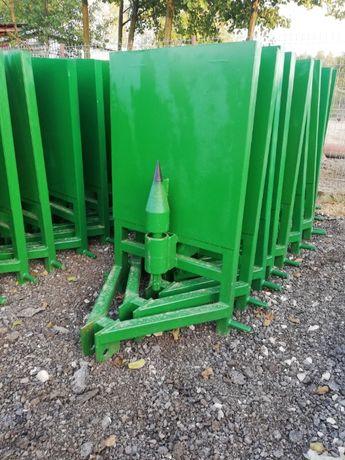 łuparka do drewna na wałek WOM świder 100mm lub 120mm dostawa