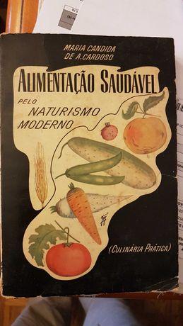 Livro culinária antigo Maria cândida A. Cardoso