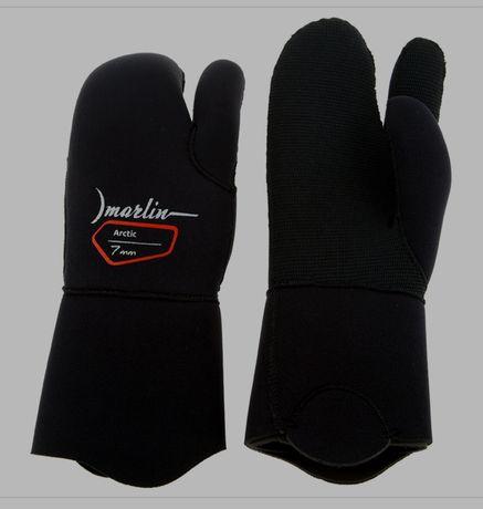 Перчатки трехпалые Marlin Arctic 7 мм NEW !