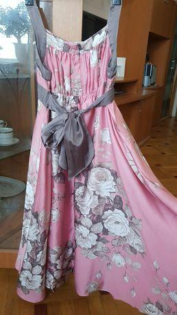 Monsoon шелк!фирменное нарядное праздничное платье