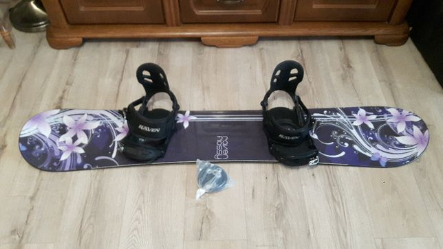 Deska snowboardowa Raven 150cm + wiązania Raven snowboard
