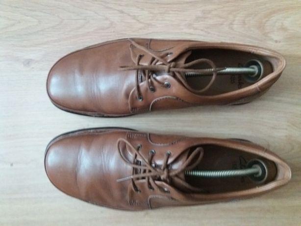 Мужские кожаные новые туфли Clarks 45 р.