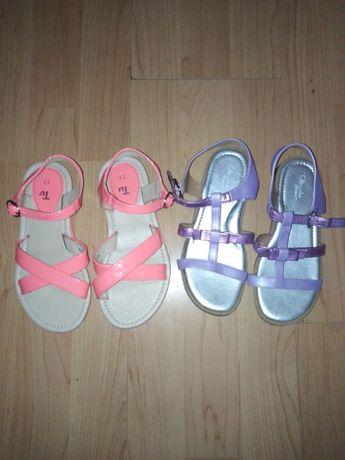 Sandałki dla dziewczynki r 30