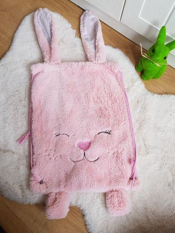 Słodki plecak plecaczek home you królik