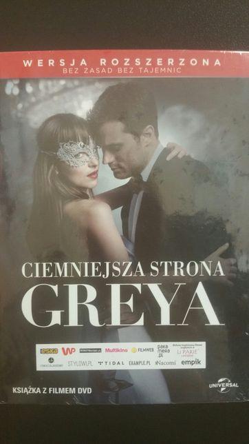 Nowe dvd Ciemniejsza strona Greya