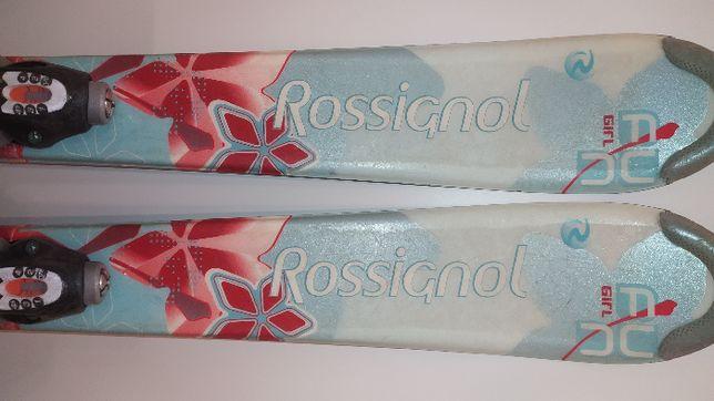 Narty zjazdowe Rossignol junior dł.100cm