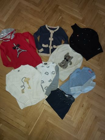 Пакет вещей для девочки осень-зима 140см