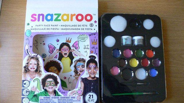 Аквагрим (краска для лица и тела) набор 12 цветов