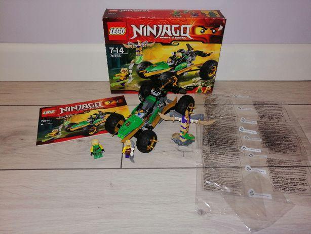 Lego Ninjago 70755 Ścigacz Lloyda. OPIS.
