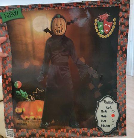 Disfarce carnaval/halloween 4-6 anos