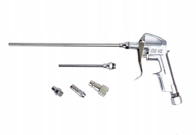 Pistolet do przedmuchiwania pneumatyczny do wąż 2 końcówki (KOM24)