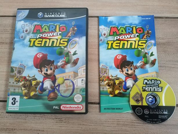 __ Mario Power Tennis ANG GameCube __