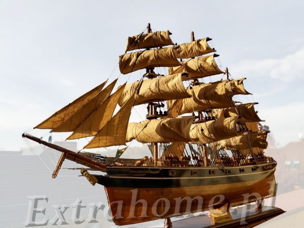 Replika statku Cutty Sark z drewna Ręcznie składany model dł: 90 cm