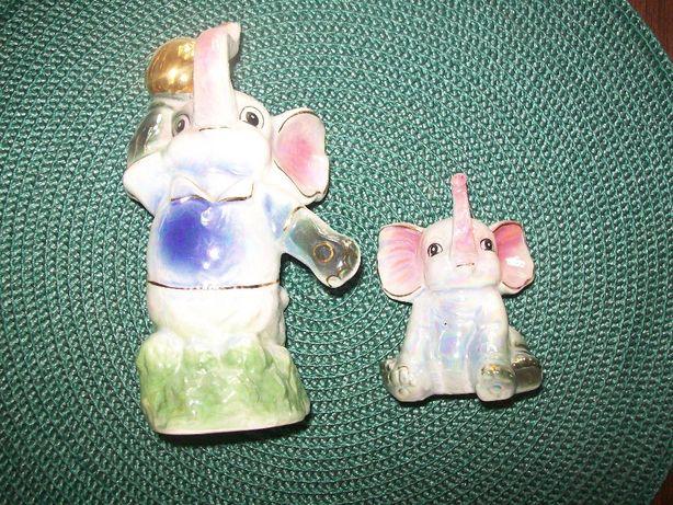 Porcelanowe słonie - chińska porcelana