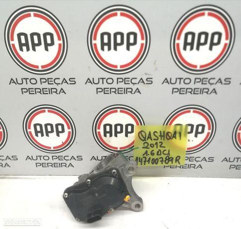 Válvula EGR Nissan Qashqai, Renault 1.6 DCI referência 147100789R.