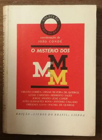 o mistério dos mmm, joão condé, livros do brasil