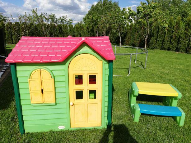 Domek  dla dzieci ze stolikiem little tikes