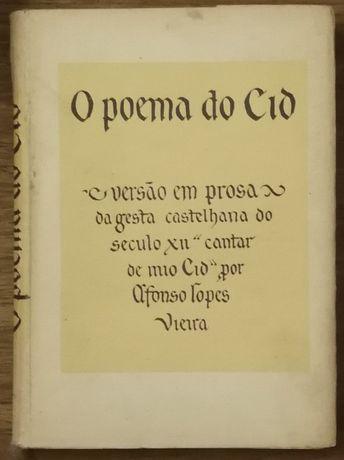 o poema do cid, versão em prosa, afonso lopes vieira
