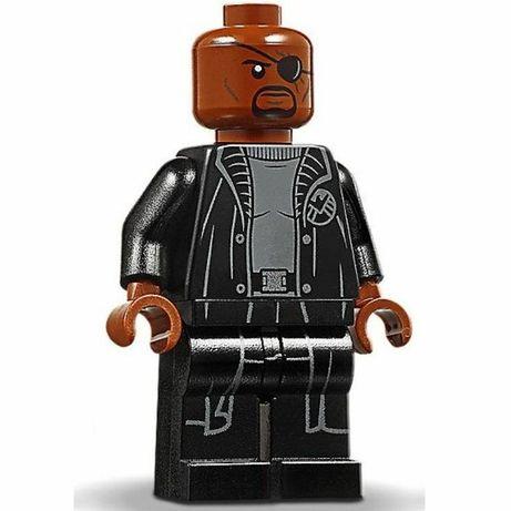 LEGO Minifigura - Nick Fury (NOVA)
