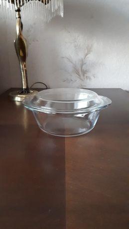 Кастрюля стеклянная с крышкой 0,8 л (Франция)