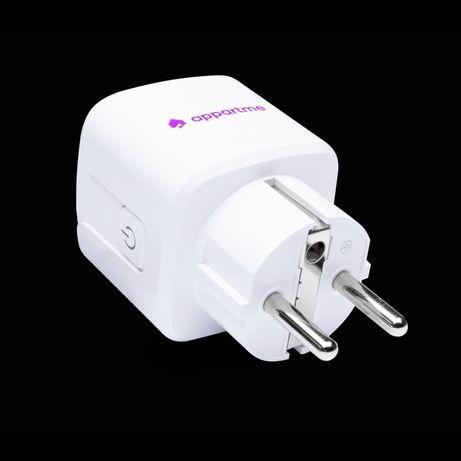Smart Plug WiFi inteligentne gniazdko 230v licznik energii prądu