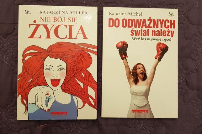"""Pakiet książek: """"Nie bój się życia"""" i """"Do odważnych świat należy"""""""