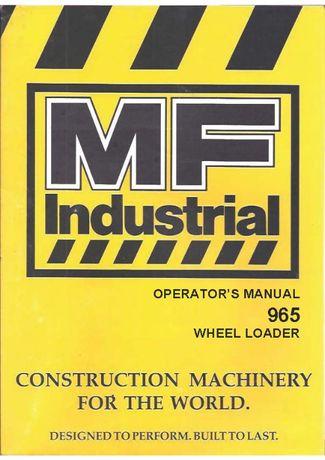 Fermec MF 965 865 instrukcja obsługi