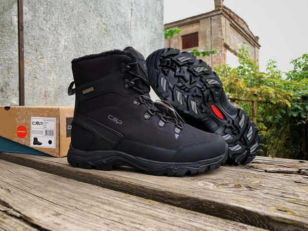Мужские зимние термо ботинки CMP Railo Snow Boot Оригинал на флисе