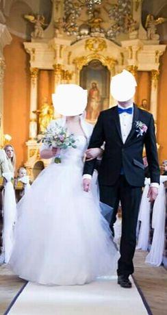 PILNIE śliczna suknia ślubna Princessa Okazja