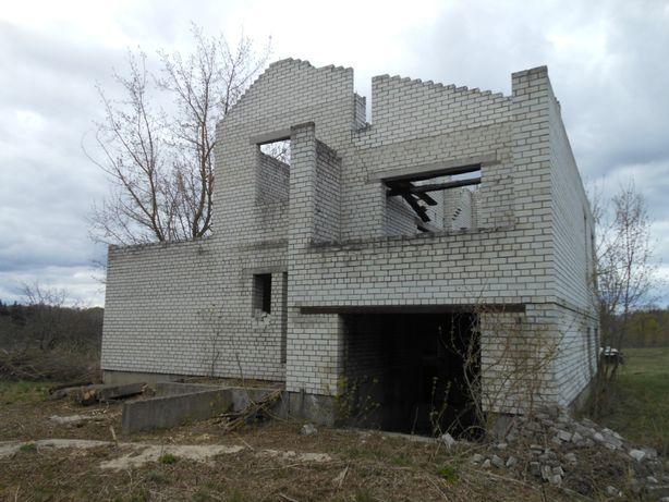 Продам недостроеный дом