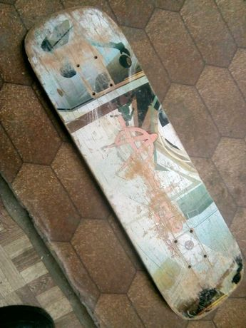 Доска на скейтборд 80на 20 см б.у.
