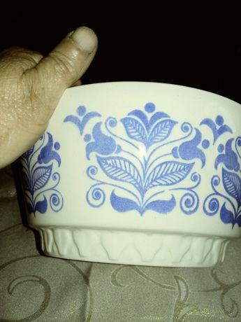 Duża miska ceramiczna ręcznie malowana HEIKE GDR