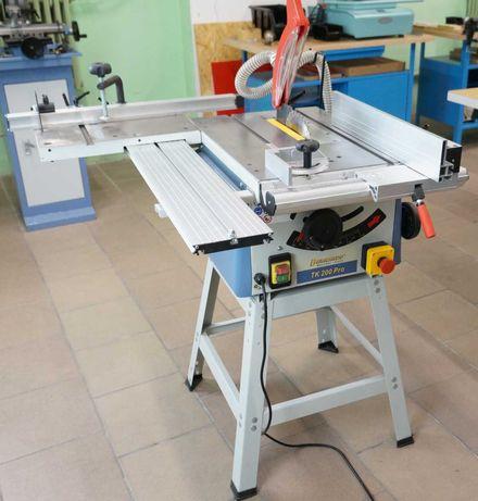 Przecinarka piła krajzega stołowa TK 200 PRO + podstawa + stół rolkowy