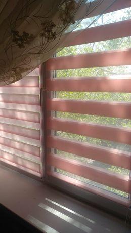 Тканевые ролеты на окна. Жалюзи. Римские шторы.Роллеты день-ночь.