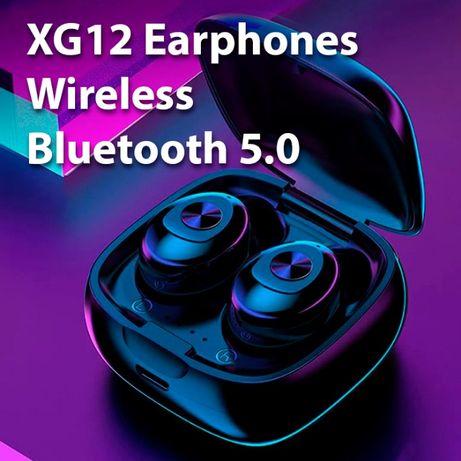 XG12 słuchawki bezprzewodowe bluetooth 5.0 nowe TWS