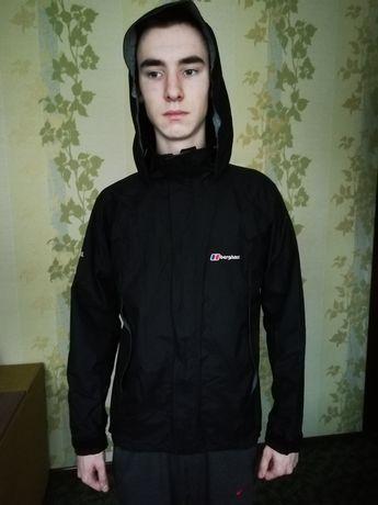 Ветровка куртка berghaus черная aquafoil мембрана