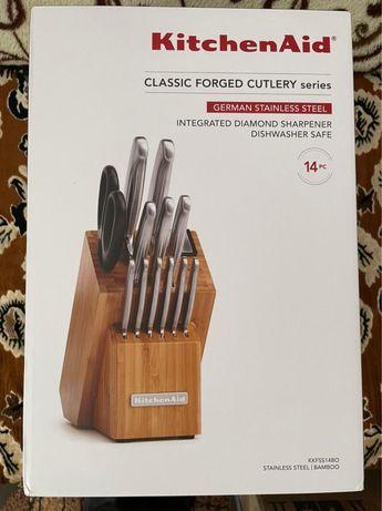 Набор кухонных ножей KitchenAid KKFSS14BO