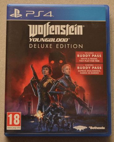 Wolfenstein Youngblood deluxe edition PL PS4