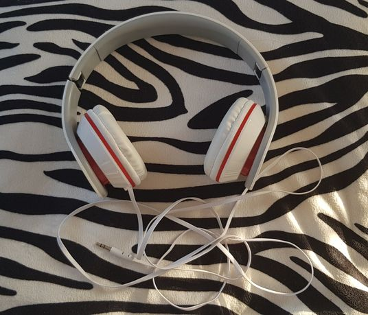 Słuchawki Nowe Regulowane Przewodowe