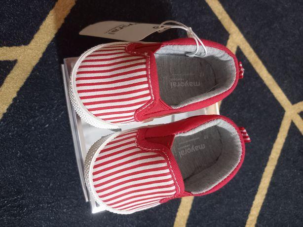 Sapatilhas Mayoral - novas unisexo vermelho e azul tamanho 17