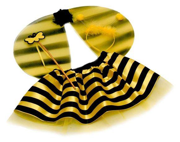 Strój pszczółka maja kostium pszczółki skrzydła