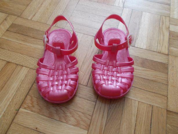 sandałki wkładka 14m lato buty 23 24 gumowe, do wody