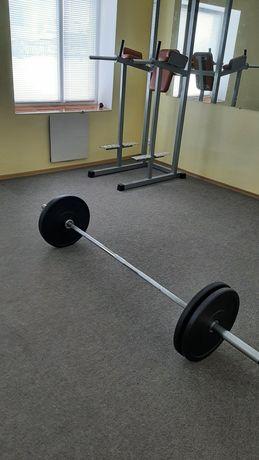 (Штанга) гриф  олімпійський Vasil з навантаженням 600кг