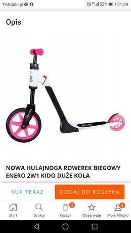 Hulajnoga 2w1 rowerek biegowy NOWA
