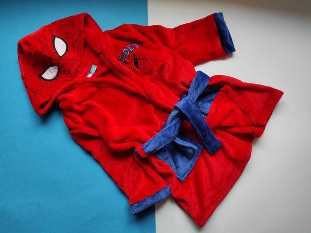 Халат для мальчика человек паук PEPCO размеры 92-128 Опт и розница