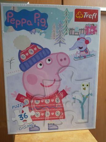 Puzzle świnka pepa