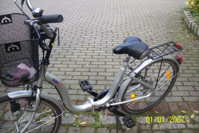 rower skladany svenny 24''niemiecki